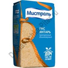 Крупа рис Мистраль Янтарь 900г