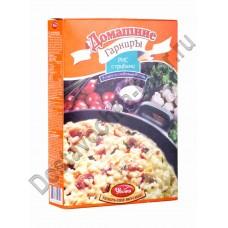 Рис Увелка с грибами в соусе со сливочным вкусом 300г