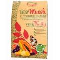 Bioмюсли Everyday пророщенная пшеница фрукты 250г