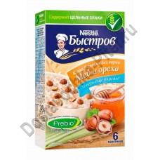 Каша овсяная Быстров Prebio 5 злаков мед/орехи 240г
