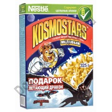Готовый завтрак Nestle Космостарс Звёздочки медовые 325г