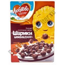 Готовый завтрак Любятово Шоколадные шарики 350г