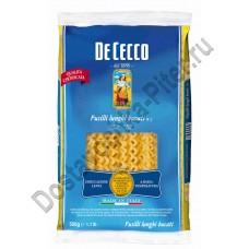 Макароны De Cecco Fusilli lunghi bucati 005 500г