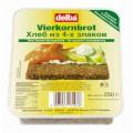 Хлеб Delba 4 злака 250г пл.упаковка