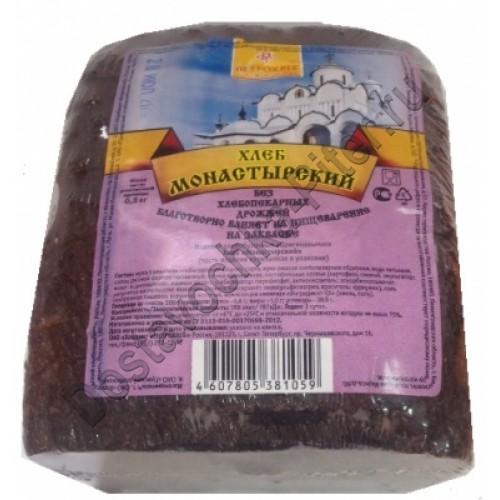 Монастырский бездрожжевой хлеб на закваске