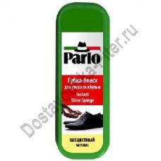 Губка-блеск Parlo для ухода за обувью бесцветный