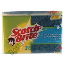 Губка для деликатной чистки Scotch Brite 2 шт