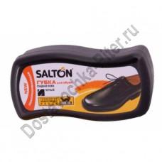 Губка-блеск Salton для ухода за обувью черный