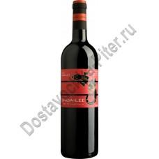 Вино Джинда-Ли Мерло (Jinda-Lee Merlot) красное полусухое 14,5% 0,75 л
