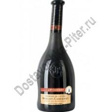 Вино Жан Поль Шене Мерло красное п/сухое 13-14% 0,75л (Франция)