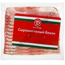 Бекон Венгерский с/к Дымов нарезка 200г в/у