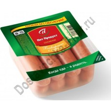 Сосиски Пит-Продукт Баварские с сыром 336г
