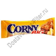 Батончик Corny Big злаковый с бананом и молочным шоколадом 50г
