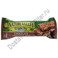 Батончик мюсли Nature Valley из цельнозерновых хлопьев шоколад 42г