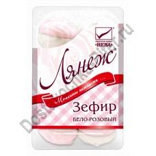 Зефир Лянеж бело-розовый 420г