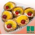 Набор пирожных Петра+ Королевское с фруктами 350г