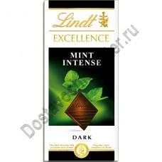 Шоколад Lindt Excellence мята 100г