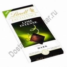 Шоколад Lindt Excellence темный с лаймом 100г