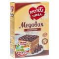 Торт Медовик с шоколадом Русская Нива 420г