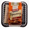 Торт сырный Кристоф Тирамису голд 500г