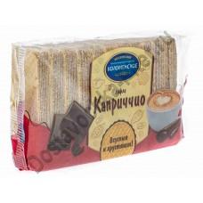 Вафли Каприччио с шоколадной начинкой 220г Коломенский
