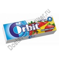 Жевательная резинка Orbit клубника/банан 13,6г