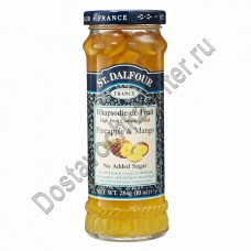 Джем St.Dalfour ананас/манго без сахара 284г