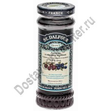 Джем St.Dalfour клюква/черника без сахара 284г