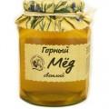 Мед горный Кедровый Бор натуральный светлый 500г