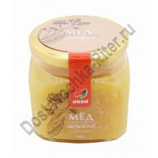 Мед натуральный монофлорный липовый ОКЕЙ стекло 500г