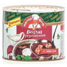 Борщ украинский Мастер Шеф 525г ж/б