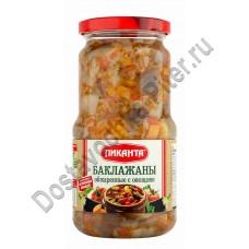 Баклажаны Пиканта обжаренные с овощами 520г