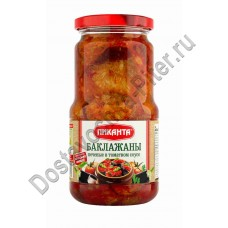 Баклажаны Пиканта печеные в томатном соусе 520г