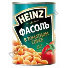 Фасоль Heinz белая в томатном соусе 415г ж/б