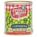 Горошек зеленый Фрау Марта 310г