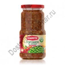 Горошек Пиканта печеный с овощами 530г