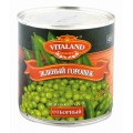 Горошек зеленый Vitaland отборный 425г ж/б
