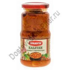 Кабачки печеные ПИКАНТА в томатном соусе 520г