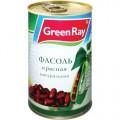 Фасоль красная Green Ray натуральная 425г