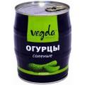 Огурцы Vegda Product соленые Вегда кошерные 580г ж/б