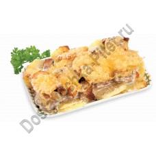 Свинина по-домашнему запеченная с картофелем кулинария ОКЕЙ 100г