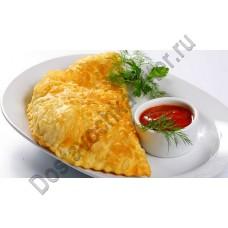Чебурек с мясом говядина/курица 140г кулинария ОКЕЙ