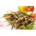 Шашлык из куриный жареный кулинария ОКЕЙ 100г