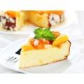 Запеканка творожная с персиками кулинария ОКЕЙ 100г