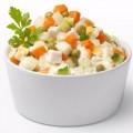 Салат Оливье, набор без салатного соуса, 100г