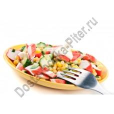 Салат из крабовых палочек и кукурузы 100г