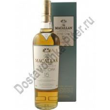 Виски Маккалан Молт 43% 0,7л 15 лет п/уп