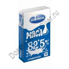 Масло сладкосливочное Экомилк 82,5% 180г