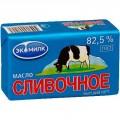 Масло сливочное несоленое ЭКОМИЛК 82,5% 180г