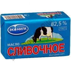 Масло сливочное Экомилк 82,5% 450г фольга